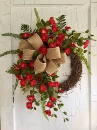 front door wreaths for summer184 best Summer Wreath images on Pinterest  Summer wreath Front
