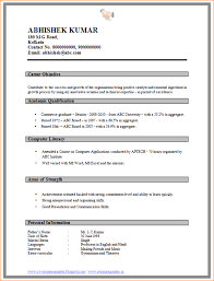 Resume In Word Format Stunning Resume For Accountant In Word Format Heartimpulsarco