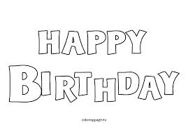 Mother Coloring Pages Printable Happy Birthday Mommy Coloring Pages