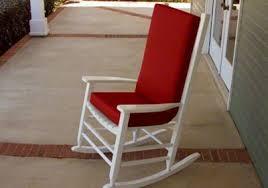rocking chair cushions. Modren Cushions Custom Rocking Chair Cushions Intended