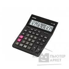 <b>Калькулятор настольный CASIO GR-14</b>(-W-EH) черный
