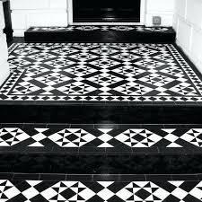 black and white floor tiles front entrance with stylish geometric floor tiles black white black white