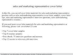 Sample Marketing Cover Letter Letter Resume Directory