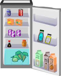full refrigerator clipart. fridge open full refrigerator clipart r