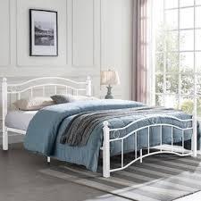 White Wire Bed Frame | Wayfair