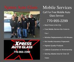 auto glass replacement cost xpress