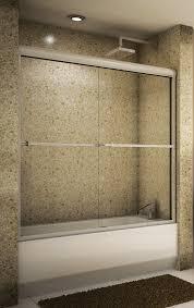 how to install a shower door on a bathtub bathtub sliding doors model
