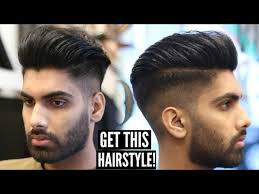 pompadour haircut step by step pompadour haircut how to skin fade mens