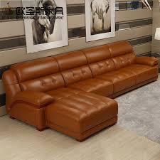 orange leather sectional sofa sofa chair leathersofa set dubai regarding sofa and chair set for existing