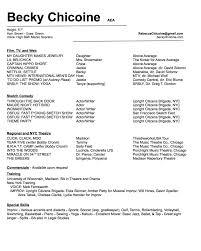Resume — Becky Chicoine
