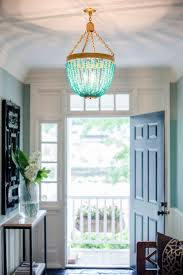 featured photo of turquoise beaded chandelier light fixtures