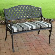 Outdoor Bench Fabric & Cushions