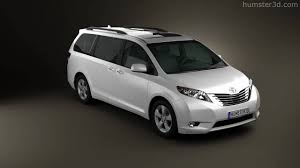 Toyota Sienna 2011 by 3D model store Humster3D.com - YouTube