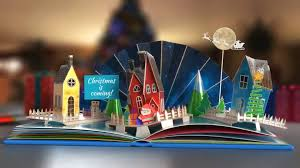 Popup Book Template After Effects Template Christmas Pop Up Book 2