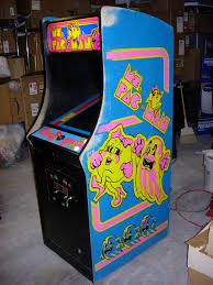 Ms Pacman Cabinet Ms Pac Man Cabinet