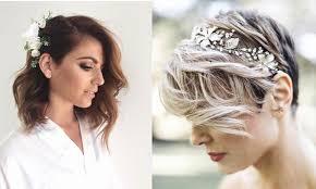 Idee Coiffure Sur Cheveux Courts Coiffure Pour Mariage