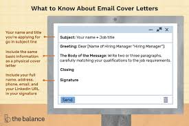 sle email cover letter message for a