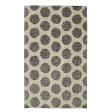 mohawk home mystic dots bay blue 8 ft x 10 ft area rug 489175 the home depot