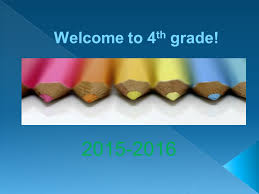 welcome to th grade we love writing  personal narratives  1 welcome to 4 th grade 2015 2016