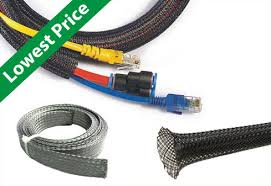 braided sleeving and braided mesh loom Aerospace Wire Harness Sleeving kable kontrol braided sleeving Wire Harness Clamps