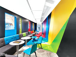 Google Office Interior A Sectional Was Customized For Meeting Area  Photography By . ...