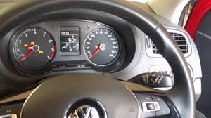 Vw Polo Dash Warning Lights Warning Lights Warning Sounds In Volkswagen Polo