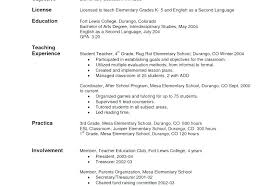 Teacher Resume Objective Examples Best Of Career Objective For Teacher Resume Resume Letter Collection