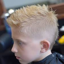 Faded Faux Hawk Add On Blonde Hair Men Haircuts For Blonde Hair