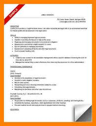 Resume Objective For Paralegal 100 paralegal resume objective examples address example 43