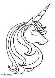 Unicorni Kawaii Da Colorare Disegni Kawaii Unicorno Da Colorare