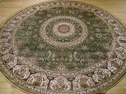 8 round rugs theme
