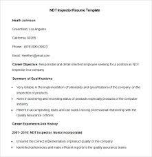Ndt Resume Sample Administrativelawjudge Info