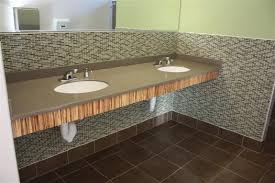 solid surface w integral sinks fort lewis college durango co