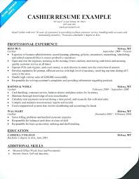 experience as a cashier objective for cashier resume yuriewalter me