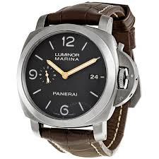 panerai luminor titanium men s watch 00351 luminor panerai panerai luminor titanium men s watch 00351