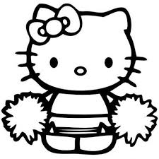 You can be whatever you want, whatever your hello kitty, the fictional character designed by japanese designer yuko shimizu, is one of the most popular subjects for kid's coloring pages. Seven Advice That You Must Listen Before Embarking On Hello Kitty Cheerleader Coloring Pages Hello Kitty Colouring Pages Hello Kitty Coloring Kitty Coloring