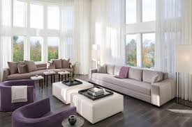 best contemporary living room with two ottoman instead of coffee tables cdr