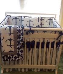 mini crib bedding sets for boys