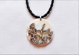 bird necklaces wooden pendant