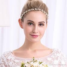 Or Mariage De Mode Mariée Coiffure Accessoires De Cheveux Couronnes De Mariée Diadèmes Tête Bijoux Strass Mariée Tiara Coiffure