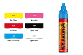 Molotow One4all Color Chart Molotow One4all 327hs Pump Marker Toswos Be