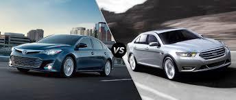 2015 Toyota Avalon vs 2015 Ford Taurus