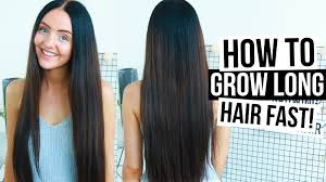Really Long Hair Hairstyles How To Really Grow Long Hair Fast Naturally Easy Tips Tricks