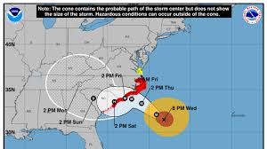 Hurricane Florence weakens slightly, remains Category 3 storm | WPDE
