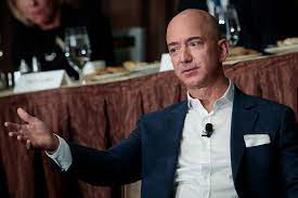 This 1999 clip of Jeff Bezos laughing ...