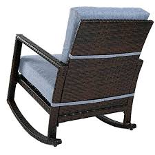wicker patio rocker home outdoor wicker rockers and gliders