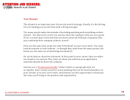 Job Search Resumes Best of Attention Job Seekers Your Search Is At Stake 24 Steps To Becoming A