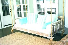 hanging daybed swing. Beautiful Hanging Hanging Sofa Swing Porch Daybed  For Back   Throughout Hanging Daybed Swing A