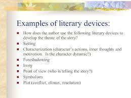 short story literary analysis this is an essay which will analyze  3 examples of literary