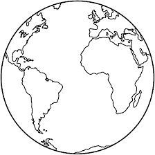 Earth Coloring Page Coloring Pages For Kids Template Pinterest